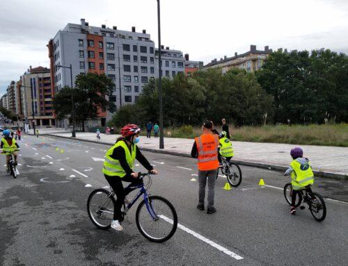 SEM 2020 en Oviedo – Taller de BiciEscuela de nivel 2