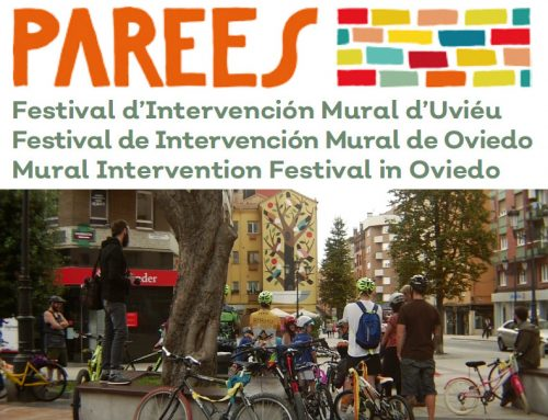 Deriva en bici – Ruta por los murales del Festival Parees 2018 en Oviedo.