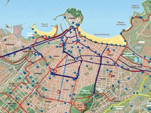 Nuevo plano ciclista «En Bicicleta por Gijón/Xixón»